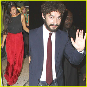 Shia LaBeouf: 'Born Villain' Premiere!