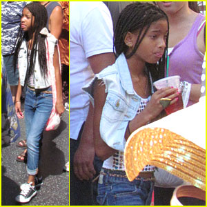 Willow Smith Hits Up Hollywood