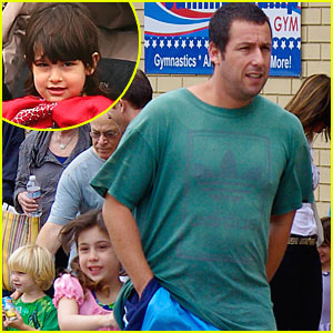 Adam Sandler: Gymnastics Class with the Girls!