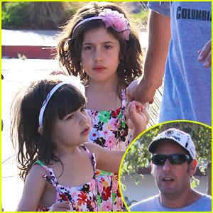Adam Sandler, Sunny, & Sadie: Movie Monday!