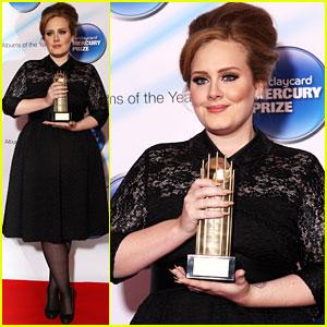 Adele: 2011 Barclaycard Mercury Prize!