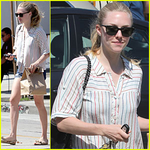 Amanda Seyfried: Urth Caffe Lunch!