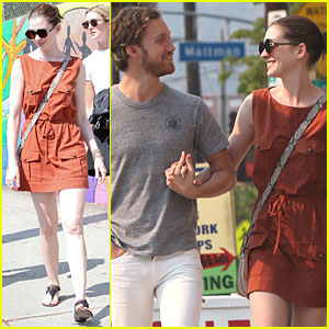 Anne Hathaway: Millie's Coffee Shop with Adam Shulman!