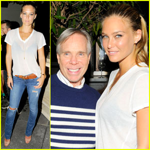Bar Refaeli: Tommy Hilfiger After Party!