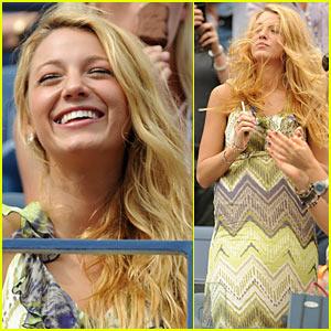 Blake Lively: US Open with Lorraine Schwartz!