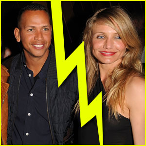 Cameron Diaz &#038; Alex Rodriguez Split