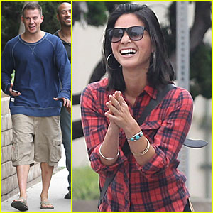 Olivia Munn & Channing Tatum: Filming 'Magic Mike'!
