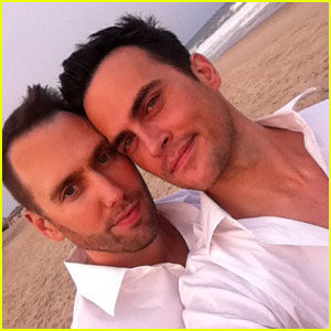 Cheyenne Jackson: Married to Monte Lapka!