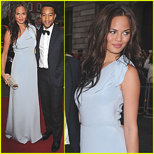 Chrissy Teigen & John Legend: GQ Men of the Year Awards!