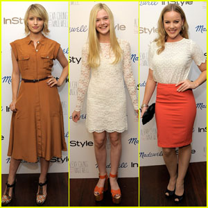 Dianna Agron &#038; Elle Fanning: Madewell Launch Party!