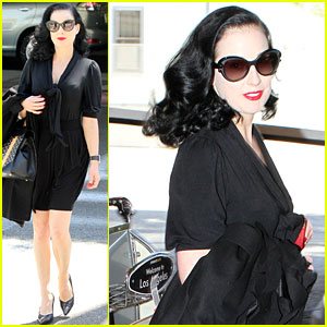 Dita Von Teese: Fun Times in New York City!