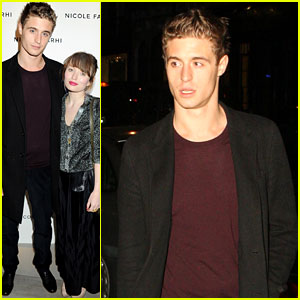 Emily Browning & Max Irons: Nicole Farhi Flagship Store Opening!