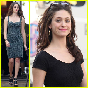 Emmy Rossum Is 'Shameless' in L.A.
