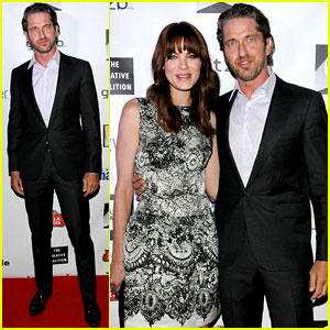 Gerard Butler: Creative Coalition Awards with Michelle Monaghan!