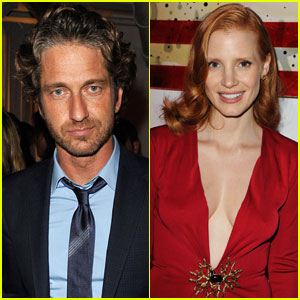 Gerard Butler & Jessica Chastain: 'Killer Joe' Party!