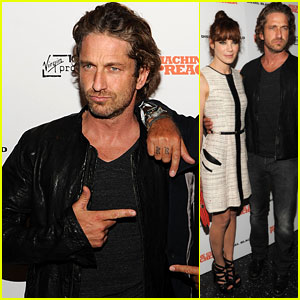 Gerard Butler: 'Machine Gun Preacher' Screening in NYC!