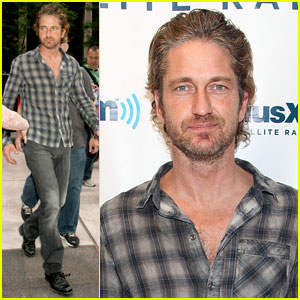 Gerard Butler Gets 'Sirius' in NYC