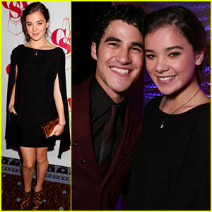 Hailee Steinfeld &#038; Darren Criss: Artios Awards Attendees!