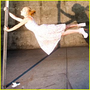 Heather Morris Defies Gravity with Tyler Shields