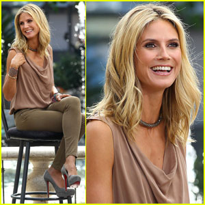 Heidi Klum Dishes On Her $2 Million Insured Legs
