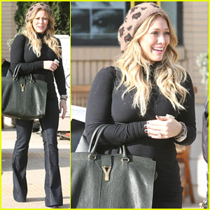 Hilary Duff: Beverly Hills Barneys Visit!