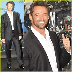 Hugh Jackman: 'Real Steel' Photo Call in Berlin!