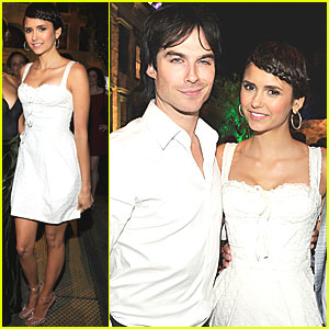 Ian Somerhalder & Nina Dobrev: CW Party!