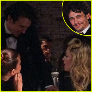 Madonna & James Franco: 'Sal' Premiere in Venice