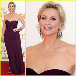 Jane Lynch - Emmys 2011 Red Carpet
