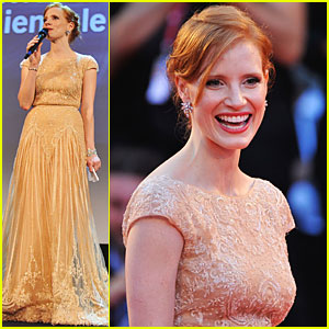 Jessica Chastain: 'Wilde Salome' Venice Premiere