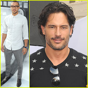 Joe Manganiello & Jesse Williams: 'Iris' Premiere!