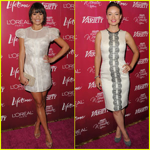 Lea Michele & Olivia Wilde: Variety's Power of Women!