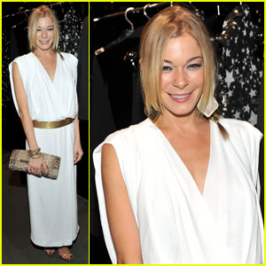 LeAnn Rimes: Fashion's Night Out With Eddie Cibrian!
