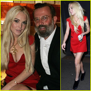 Lindsay Lohan: Gareth Pugh After Party!