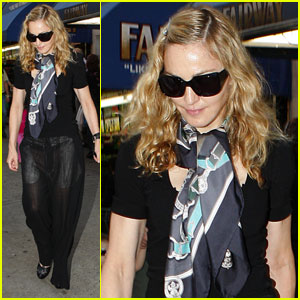 Madonna: Launching A Fragrance With Coty?