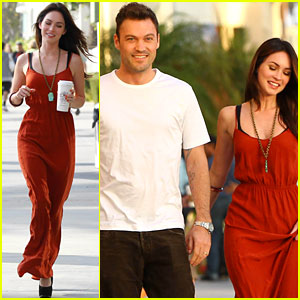 Megan Fox &#038; Brian Austin Green: Santa Monica Sunday Dinner!