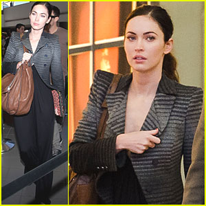 Megan Fox & Brian Austin Green: LAX Liftoff