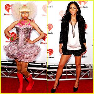 Nicki Minaj & Nicole Scherzinger: iHeartRadio Music Festival!
