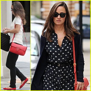 Pippa Middleton: Swan Printed Dress!