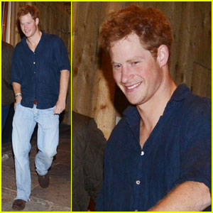 Prince Harry Parties at Public Nightclub