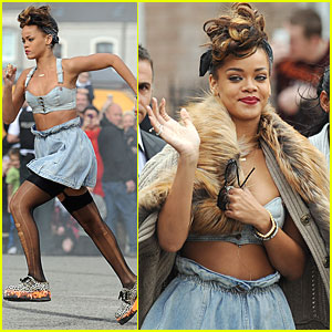 Rihanna: 'We Found Love' in Belfast!