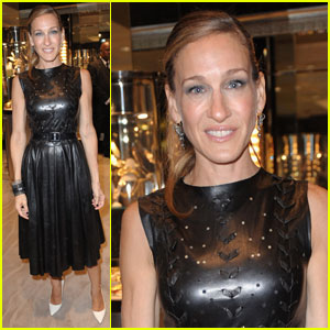 Sarah Jessica Parker: FNO with Fred Leighton!