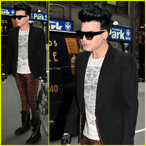 Adam Lambert: Working on New Record in NYC!