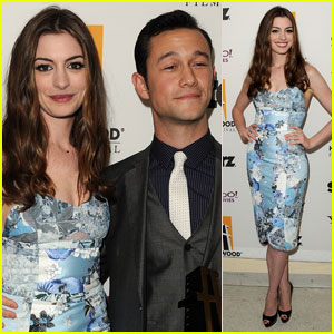 Anne Hathaway & Joseph Gordon-Levitt - Hollywood Film Awards 2011