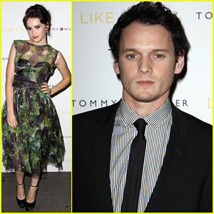 Anton Yelchin: 'Like Crazy' New York Premiere with Felicity Jones!