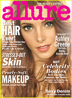 Ashley Greene Covers 'Allure' November 2011