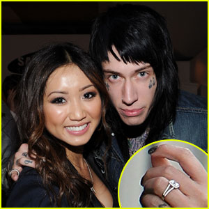 Brenda Song: Engaged to Trace Cyrus!