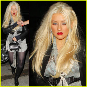 Christina Aguilera: Night Out in Studio City