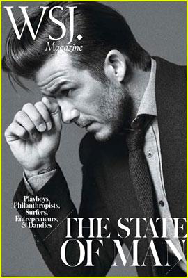 David Beckham Covers WSJ Magazine