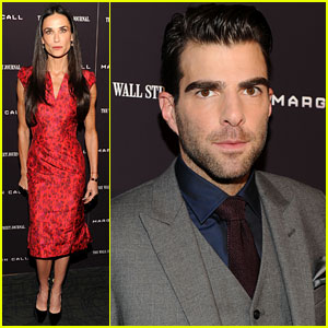 Demi Moore & Zachary Quinto: 'Margin Call' Premiere!